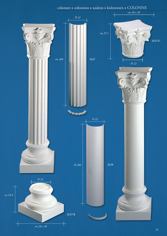 Сделать колонну из гипса своими руками